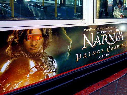 startrek bus film poster advertisement narnia 2008 geordilaforge princecaspian brettjordan