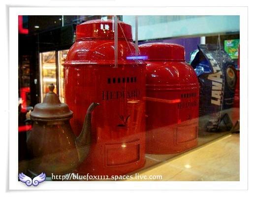 080324南台灣樂活之旅第9站_陶歐米納04_櫥窗裡的茶與咖啡
