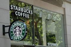 Starbucks am Kö (WrldVoyagr) Tags: city coffee sign germany deutschland store cafe schild starbucks coffeehouse dusseldorf düsseldorf exclusive kö königsallee