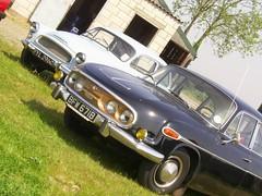 Two Czechs (tatrakoda) Tags: classic car automobile super voiture communist socialist oldtimer v8 czechoslovakia skoda tatra octavia 603 aircooled koda easteuropean 10millionphotos