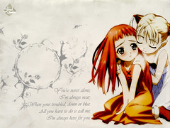 u r never alone (revolution inlovers) Tags: anime girl design