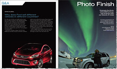 My Ford Magazine (davebrosha) Tags: winter magazine portfolio northernlights auroraborealis publications yellowknife fordescape fordmotors myford