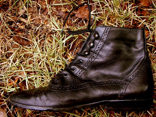 etienne aigner granny boots