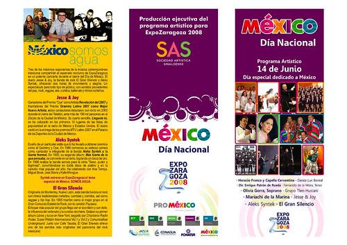 Día nacional de México en la Expo Zaragoza