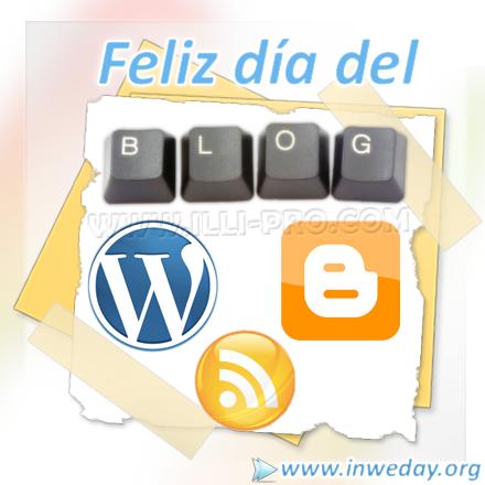 Feliz dia del blog!
