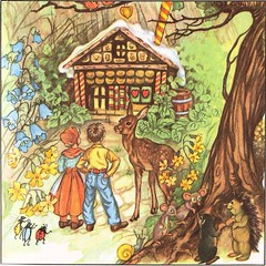 children's book lolly house (lorryx3) Tags: tree lady bug mouse barrel gingerbread snail doe deer mice otter ladybird ladybug gingerbreadhouse bluebels lollyhouse
