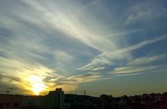 A burning sunset (eugeni_dodonov) Tags: sunset sky sun sol nature clouds landscape paisagem nuvens socarlos ceu anoitecer n73