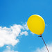 Balloon in a Summer Sky by incurable_hippie
