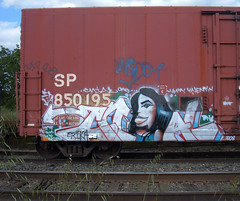 Cnial (Sassy Fras) Tags: train graffiti graff cnial