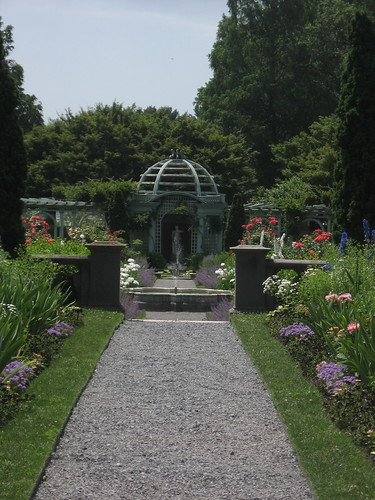 Looking into the Walled Garden