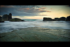 Forresters Shelf (Tim Donnelly (TimboDon)) Tags: ocean sunset sea australia nsw forresters theperfectphotographer