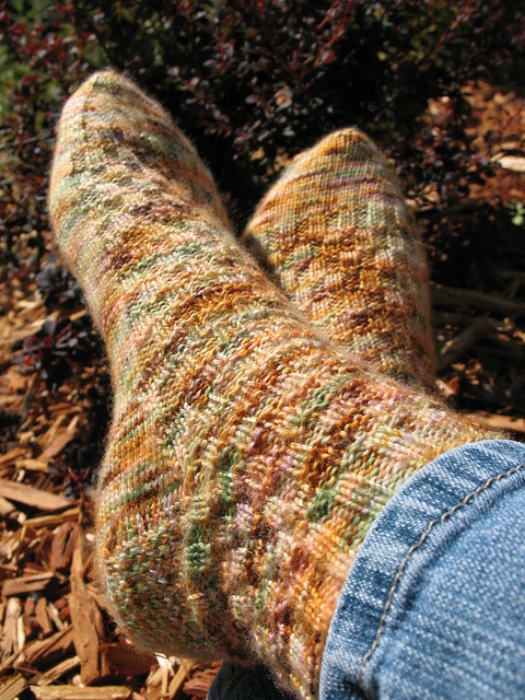 Weasley Socks (image taken direct from Ravelry)
