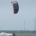 kitesurfing the sound, NC