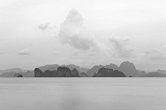 The View at f32 (mahonyweb) Tags: travel sunset bw holiday beautiful clouds asian thailand islands interestingness interesting asia explore thai phuket krabi thebeach lightroom top500 f32 flickrexplore magicdonkey kohyaonoi canon70200lf28is canoneos1dsmarkiii canon1dsmarkiii 50thexplore