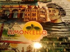 เมนูของ Limoncello (ภาพประกอบเหมือนอาหารสำหรับเกย์เลยแหะ)