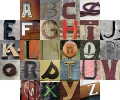Wood letters II