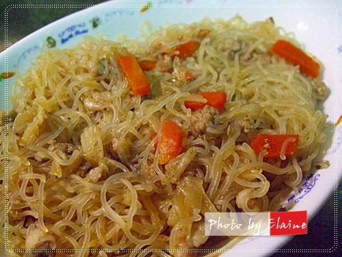 電鍋炒米粉2