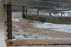 Sea defences at Lyme Regis