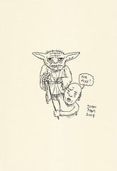 Yoda sketchbook Vol. 2 page 6 - John Pham