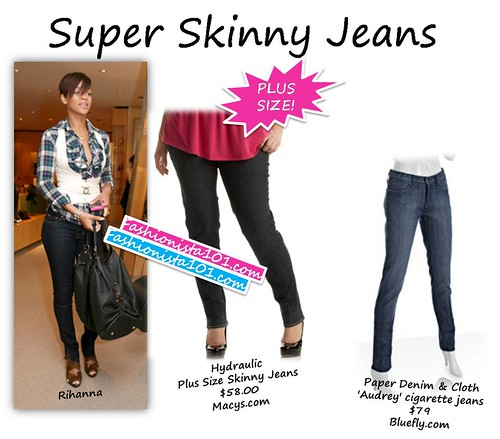 super skinny jeans by you.