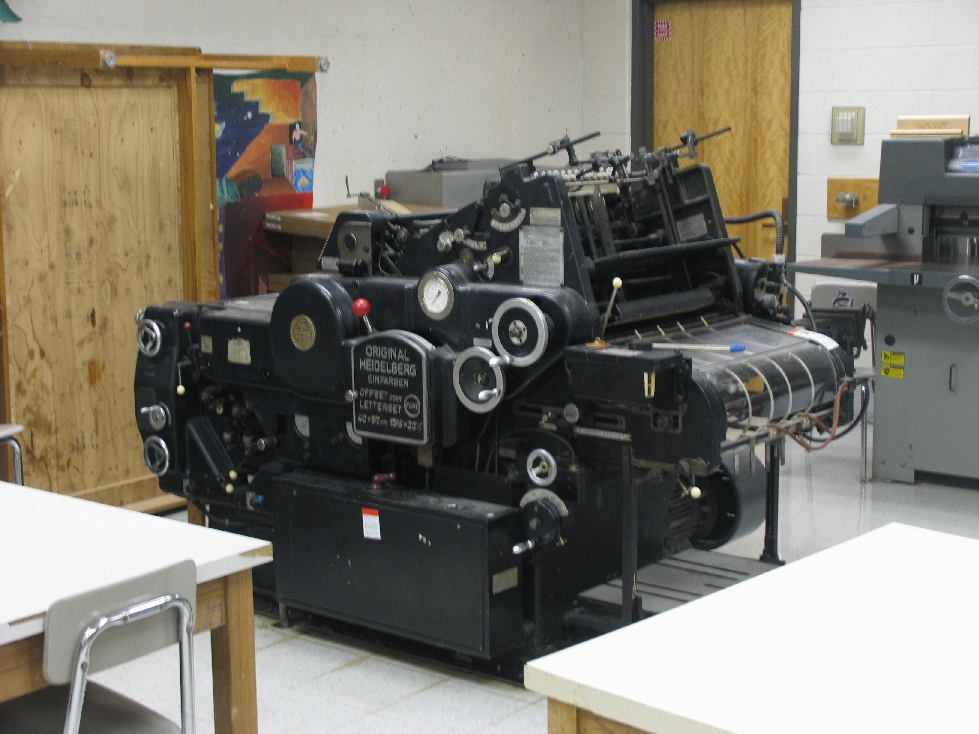 Heidelberg KOR One Color Offset Printing Press