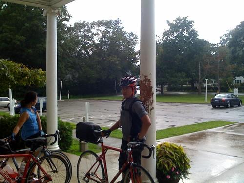 rain en route to new haven
