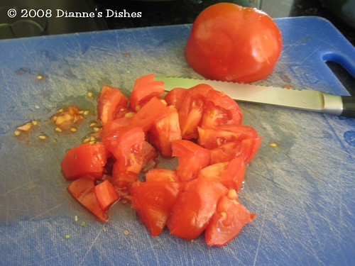 Salsa: Chopped Tomatoes