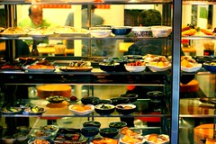 Japanese old diner (Miki Nagata (bananagranola)) Tags: food japan japanese diner osaka umeda shokudo reastaurant