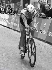 TT Eneco Tour Mechelen - Benoît Joachim (KarolusLinus) Tags: bw white black blackwhite zwartwit tt zwart wit joachim mechelen astana timetrial benoît enecotour benoîtjoachim aplusphoto