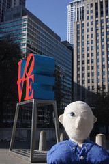ed bacon knitted bust in Love Park.jpg