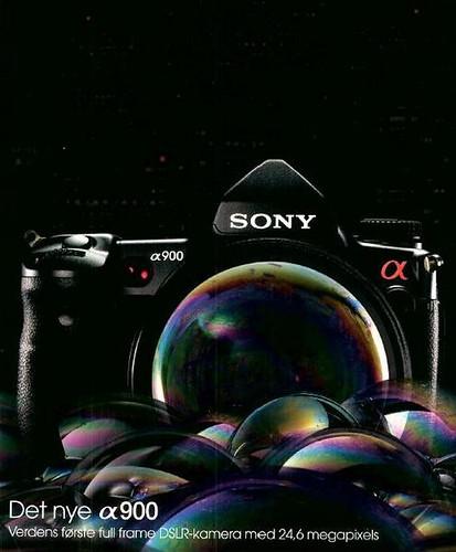 Sony A900 Full Frame 24.6 Megapixels