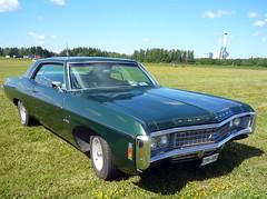 Green Chevrolet Impala