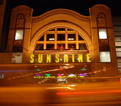 Sunshine Theater, Houston St NYC