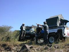 Camping Botswana Notwane (thwhitney) Tags: africa old man 4 x safari pools crocodile emu botswana comfort awn hilux safaris eazi notwane