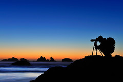 Twilight Blues (Tomaocron) Tags: sunset beach silhouette oregon photographer dusk profile bec d700 goldstaraward skyascanvas alemdagqualityonlyclub alemdaggoldenaward