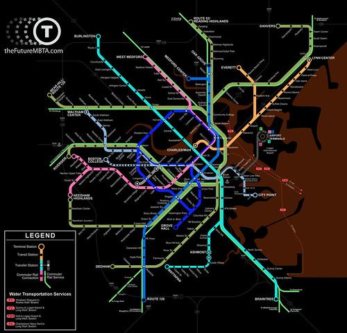 MBTA Map Future Inverted