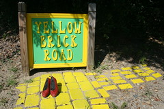 Follow the Yellow Brick Road! (by absoblogginlutely)