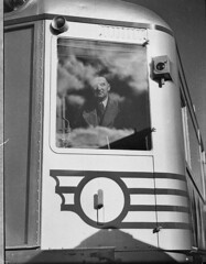 Silver City Comet: diesel train on trial run from Sydney to Moss Vale, 1937