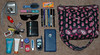 The Contents (Lyndz87) Tags: camera sunglasses gum bag keys wallet cellphone brush purse pens lipgloss listerine lotion chapstick checkbook