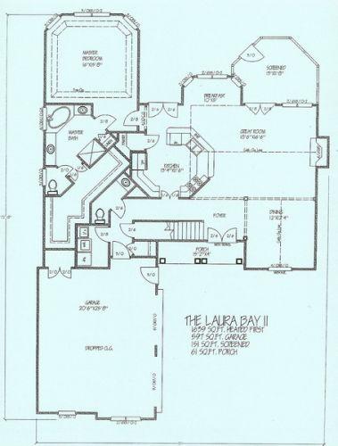 Laurel Bay II First Floor Plan