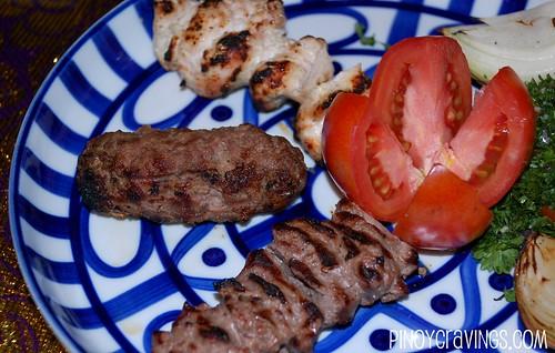 Mixed Kebab at Ziggurat Cuisine