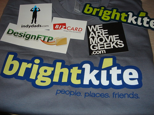 StartupSchwag #12: It's all brightkite!