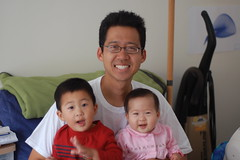 Daddy, Owen, and Aki