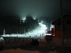 Bulgaria - Borovets, Rila Mountain (Stella VM) Tags: trees winter mountain snow ski color colour tree nature beautiful beauty night forest landscape skiing bulgaria rila 1001nights wonderland lanscape borovets bulgarian skirun   supershot  kartpostal abigfave   citrit  damniwishidtakenthat panoramafotogrfico