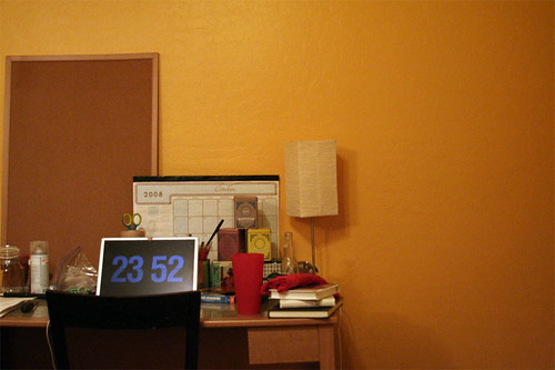My room: my desk