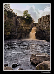 High Force. (numanoid69) Tags: water river landscape waterfall gorge highforce teesdale rivertees prideofengland