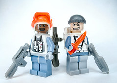 Ice Planet Special Forces (olo) Tags: toys lego explore minifig prototypes iceplanet brickarms foitsop freebap