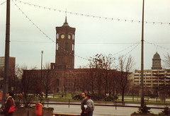 Berlin Rotes Rathaus in East Berlin (mbell1975) Tags: city cold berlin germany deutschland town hall war europe cityhall east german ddr rathaus gdr ost deutsch