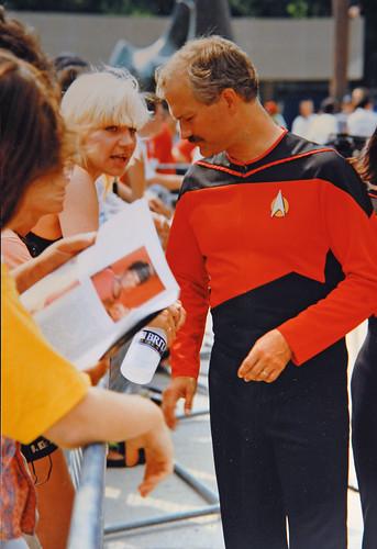 RIP Jack Layton. 1991 Star Trek Convention