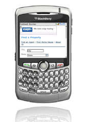 coldwellbanker.com on your Blackberry